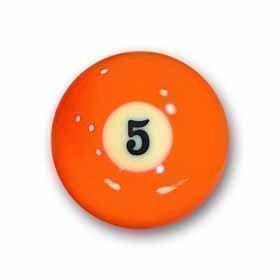 "Billardkugel Nr. 5 Pool-Ball ""Favorite"" Nr. 5"