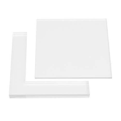 Stempel Stellungsregler Kit 2 Teile/Satz Stempel Färbung Bord Lokalisierung Klar Acryl Pad Stempel Stellungsregler Kit -