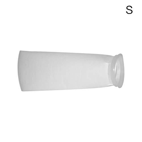 Flyhigh Vorfilter-Socken für Aquarien, 100/150 / 200 Mikron, Polypropylen-Netzbeutel, leicht, 1 Stück S