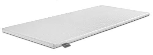 Traumnacht Komfort viscoelastischer orthopädischer Matratzentopper, mit Memory Foam Effekt in dem Härtegrad 2, 180 x 200 cm