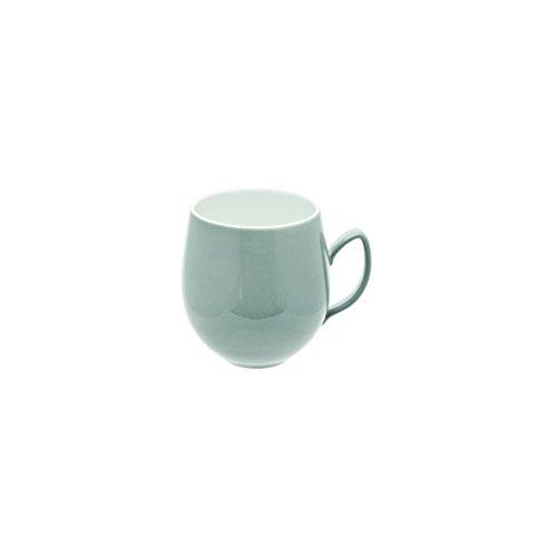 DEGRENNE - Salam Thé lot de 6 mugs, porcelaine - Gris perle