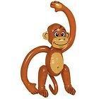 Aufblasbarer Affe - Jungle Party Dekoration [Spielzeug]