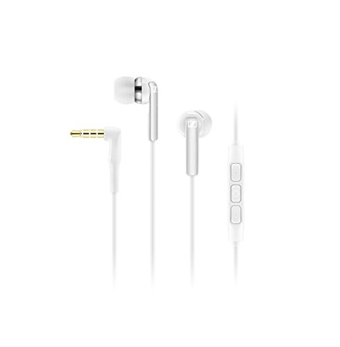 Sennheiser CX 2.00i Auricolare In-Ear, iPhone/iPod/iPad, Bianco