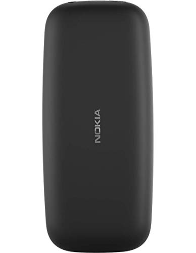 Nokia 105 Single SIM Mobile Phone Black