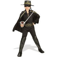 Rubie's - I-37426L - Costumes - Panoplie Zorro Luxe -Taille S = 3-4 ans