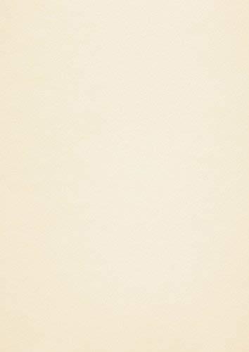 Conqueror Wove Papier, A4, glattes Finish, Cremefarben, Wasserzeichen, 50 Blatt