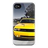 Apple Iphone 4/4s Bumper Hard Phone Cases Unique Design Fashion Auto Dodge Others Dodge Dodge Challenger Series [LiS666uUCM]