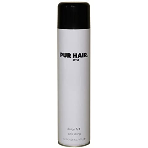 Pur Hair Spray per capelli resistente – Hairspray Design F/X extra strong umidità per una finitura langanhaltendes – 600 ml