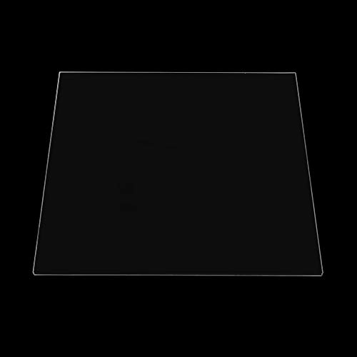 ExcLent 220X220X3Mm Borosilicate Glass Platform Build Plate For Creality Ender-3 3D Printer Heated Bed