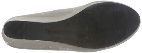 Elara Damen Pumps Keilabsatz Wedges Schuhe mit Plateau |Chunkyrayan - 3