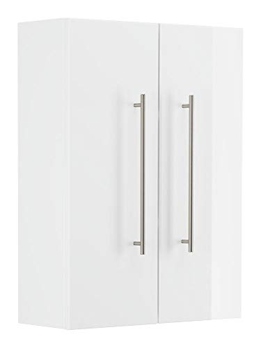 Emotion Armoire Aurum-L blanc brillant