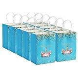 Wavejoe 12 Einhorn Kraftpapier Papiertüte Papiertasche Geschenktüte Geschenkbeutel Verpackung Geschenk Mitgebsel Give-Away Geschenktasche Papier-Beutel -