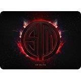 Mark D. Mil Team Solo Mid Maus-Pad 2015neue Pad zum Maus TSM Notebook Computer MOUSEPAD rot Gaming PADMOUSE Gamer zu Laptop-Tastatur Mats