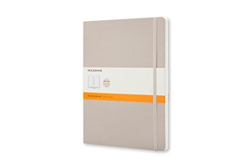 Moleskine Classic - Cuaderno de tapa blanda, color beige caqui