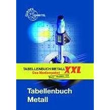 Tabellenbuch Metall XXL: Tabellenbuch, Formelsammlung und CD Tabellenbuch Metall digital