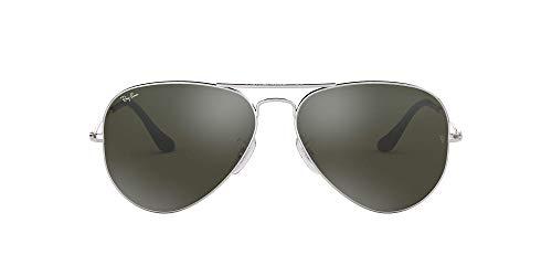 Ray-Ban - 0RB3025 - Aviatior - Lunettes -  Silver Frame/Crystal Grey
