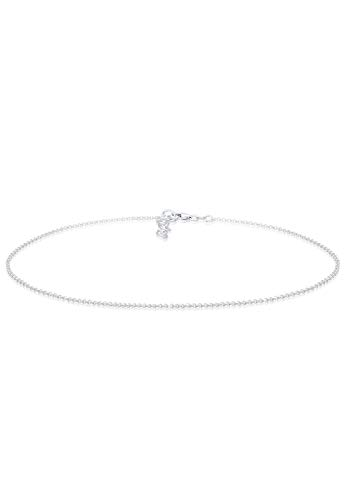 Elli Halskette Basic Kette Choker 925 Sterling Silber