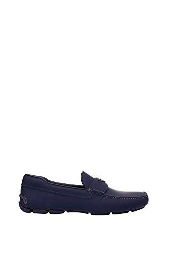 Blau 2dd127baltico Prada Leder Loafers Herren qIA7qwrn