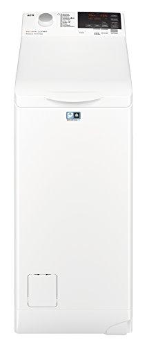 AEG L6TB61370 Waschmaschine/Energieklasse A+++ (175 kWh pro Jahr)/7 kg/Toplader Waschautomat/ProSense Mengenautomatik/Startzeitvorwahl/Weiß