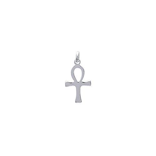 Pendentif Croix de Vie Egyptienne Anck en argent 925°/00 + chaîne