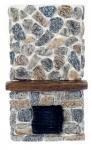 Puppenhaus BODEN zu Decken Stein Kamin 1:12 Maßstab Harz (Hohe Kamin Decken,)