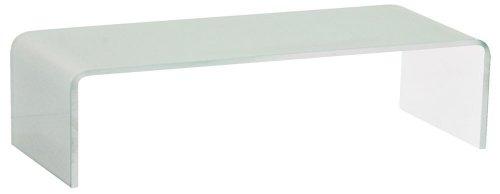 TV Schrank-Aufsatz 90 cm Glas Fernsehtisch Glasplatte Glasaufsatz Glastisch Hagen B153085-3S