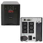 APC SMART-UPS 750VA/500W unterbrechungsfreie Notstromversorgung (USV) Plus Input 230V/ Output 230V inkl. PowerChute -