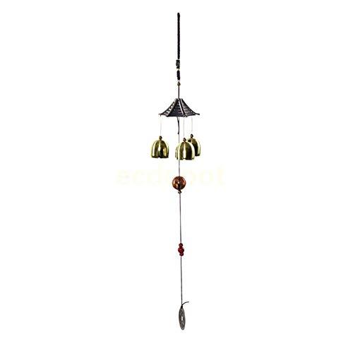 ZHAOXIANGXIANG Metall Glocken, Windspiel Garten Hof Charme Hängen Feng Shui Ornament Dach