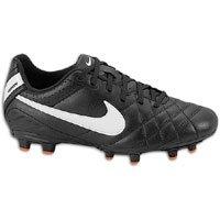 Nike Junior Tiempo Natural IV Fester Boden Fußballstiefel - 38.5 -