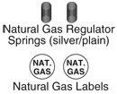 Weiß Rodgers F92-1011geregelt LP TO Natural Gas Conversion Kit (Natural Gas Conversion)
