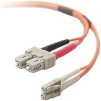 Belkin LC/SC Multimode 62,5/125 µm Duplex Glasfaser-Netzwerkkabel 10 m -