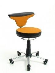 Preisvergleich Produktbild Jugenddrehstuhl TORRO-SIT von Mayer in orange/schwarz