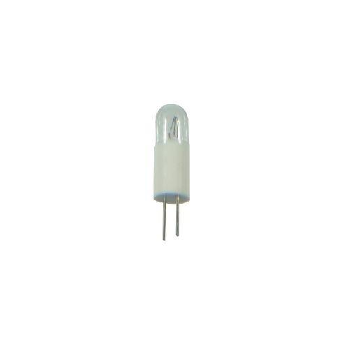 S+H Glühlampe T1 3/4 5,7x15,87mm BiPin Pin-Abstand 3,17 60 Volt 20mA Röhrenfom (60v Pins)