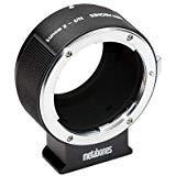 Adapter Nikon F an Fuji X-Mount T