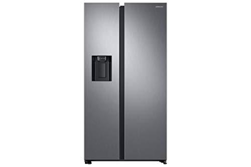 Samsung RS8000 RS6GN8331S9 / EG Side-by-Side Kühlschrank / A++ / 389 kWh / Jahr / 178 cm Höhe / 407 L Kühlteil / 210 L Gefrierteil / Silber / Space Max / Twin Cooling Plus