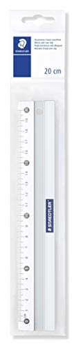 STAEDTLER Metall-Lineal, aus Aluminium, 200 mm lang