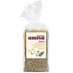 (Amisa Bio Dinkel Bio-Sonnenblumenkerne und Sesam knusprig 200g (Packung von 2))