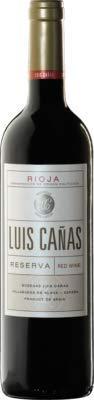 Tinto Luis Cañas Reserva Rioja Alavesa 75 Cl
