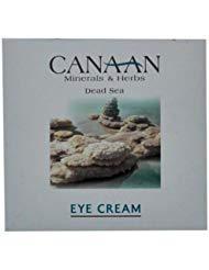 Canaan Minerals and Herbs Dead Sea Eye Cream 1.02 oz by Canaan (English Manual)