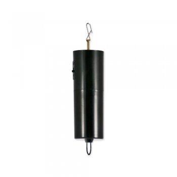 CIM Mobiler Batterie Motor für Edelstahl Windspiele, Discokugeln, Mobiles - leise, gleichmäßig drehend - Abmessungen: 45 x 190mm