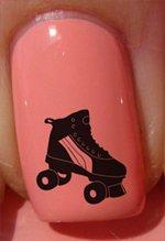 Skate des années 80 - Stickers pour ongles YRNAILS
