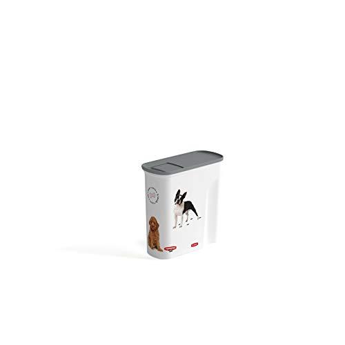 Curver Conteneur À Croquettes 6l Pour Chien Blanc Blanc/ Chien