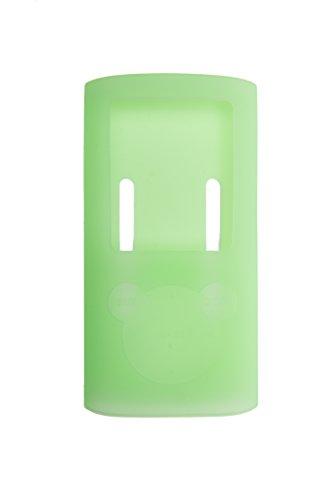 Preisvergleich Produktbild Silikon Schutzhülle / Bumper - Grün - für Sony NWZ-E384 Walkman Video/MP3-Player BERTRONIC ®
