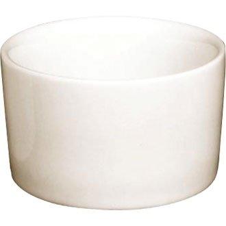 Elfenbeinfarbenem Porzellan Geschirr-Moderne/Auflaufförmchen, 80 mm, 3 x 1-10.16 cm (Box 12) ein stilvolles Geschirrset für Zuhause oder die professionelle Einrichtung Coupe Dinner Plate