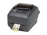 Zebra GK420t-Stampante di etichette, termica diretta/Trasferimento termico, 203x 203dpi, 127mm/sec, fili, 8MB, 4MB non