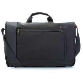 Briggs & Riley Verb 17'' Borsa messenger per laptop nero