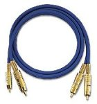 Oehlbach NF 1 Master  NF Audio-Cinchkabel  blau  1.00 m