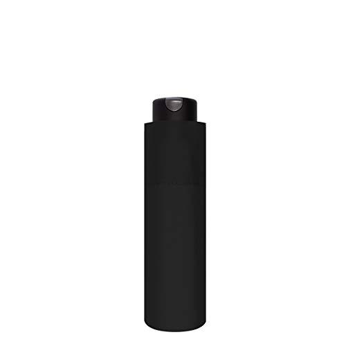 doppler Taschenschirm Carbonsteel Mini XS Black - Sehr kleines Format - Extrem stabil - 18 cm