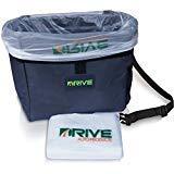 Der Drive Auto Abfalleimer - Das Beste AutoMülleimer & Müllbeutel System für jedes Fahrzeug | Frei hängender Abfallkorb inkl. Mülltüten | Universal & Wasserdicht