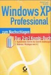 Windows XP Professional zum Nachschlagen